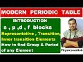 Download Video Modern Periodic Table Introduction |  10 CBSE / ICSE | How to find Group and Period of an Element | MP4,  Mp3,  Flv, 3GP & WebM gratis