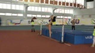 Ирина Геращенко 1,86 - Рождествен. старты 2016