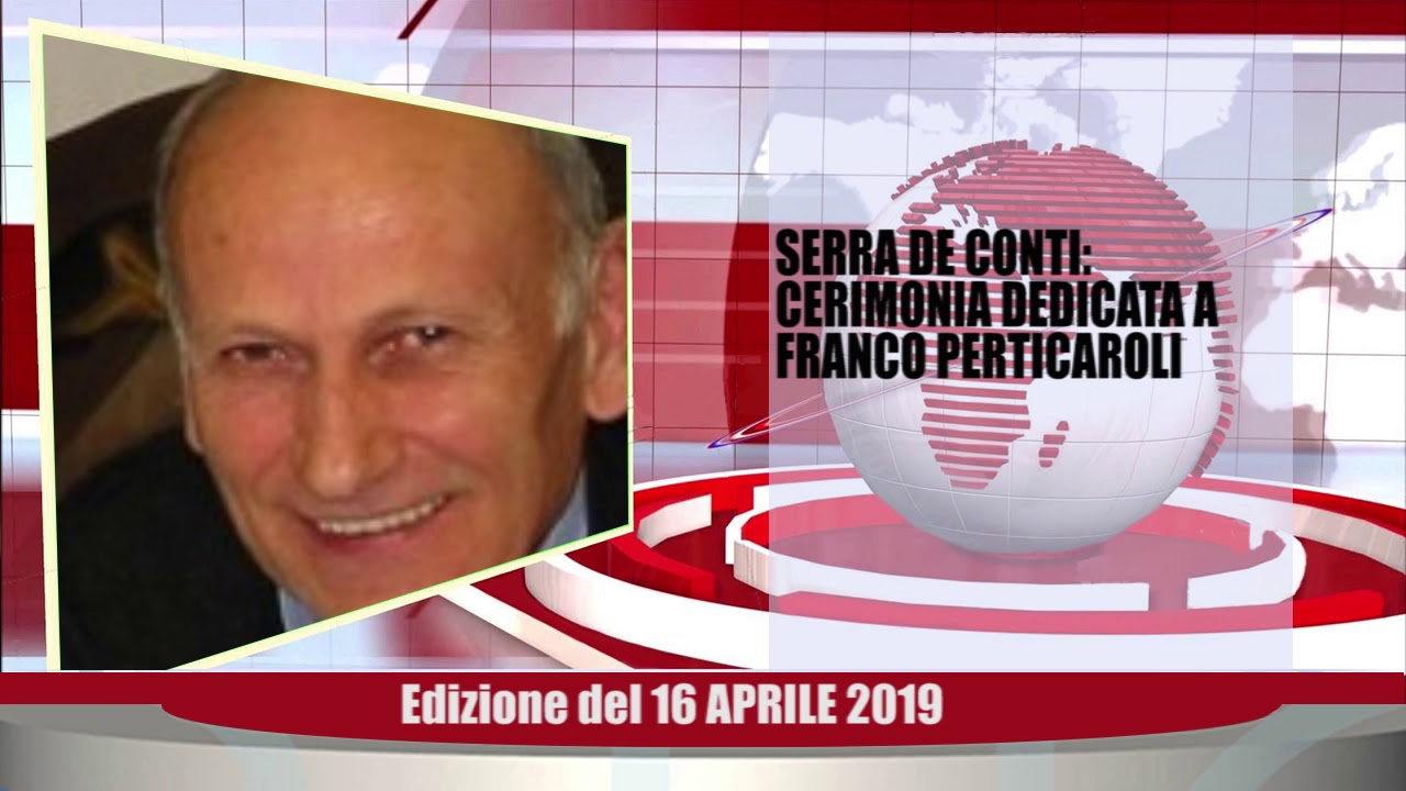 Velluto Notizie Web Tv Senigallia Ed  16 04 19