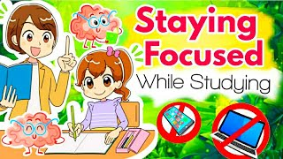 Staying Focused while studying | How to Concentrate | 6 Simple Tips to focus on studies #shorts