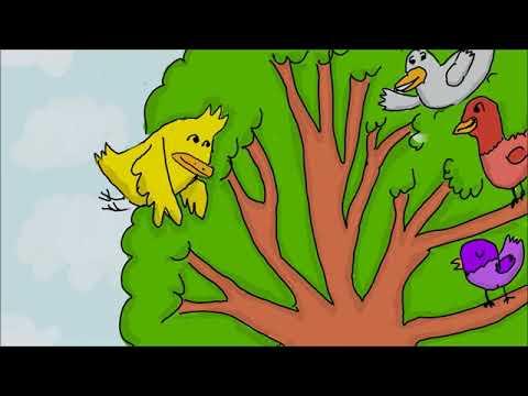 Aku Burung Di Dalam Sangkar (Lagu KBSR)