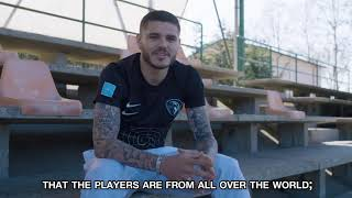 Mauro Icardi incontra la NO LEAGUE