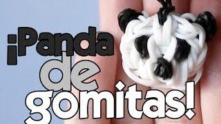 Repeat youtube video Cómo hacer un PANDA de GOMITAS (con 2 tenedores)