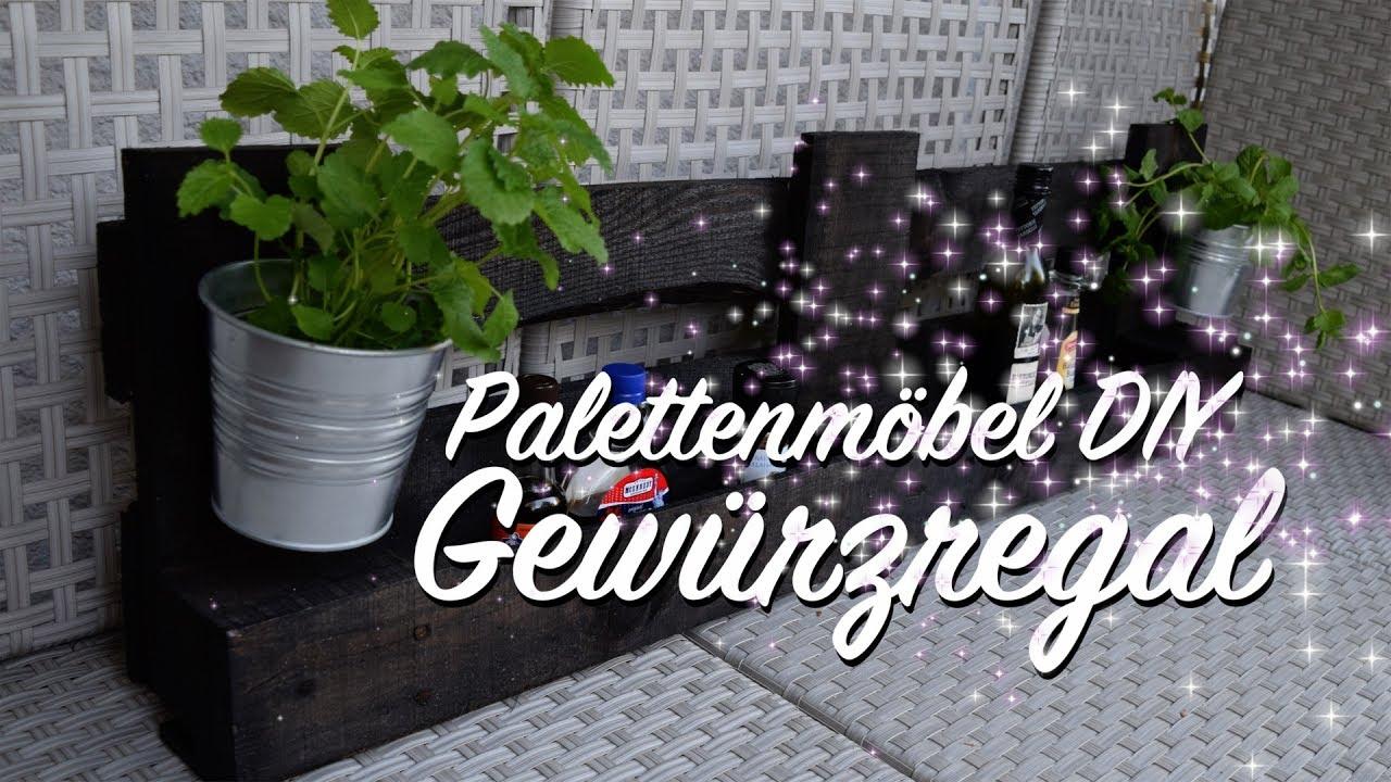Gewürzregal Aus Paletten Selber Bauen Diy Anleitung Upcycling