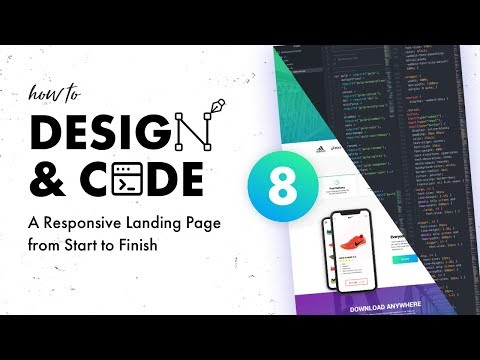Design & Code a Responsive Landing Page from Start to Finish | Coding the Nav and Header