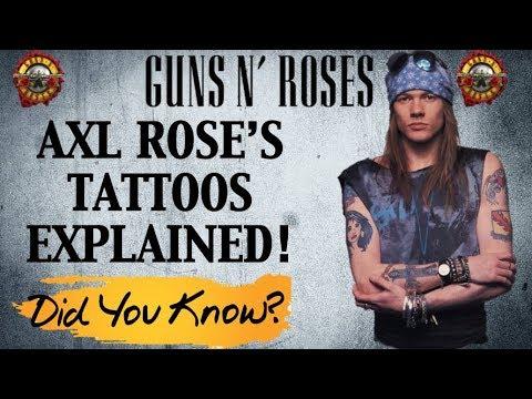 Guns N' Roses: Axl Rose Tattoos Explained