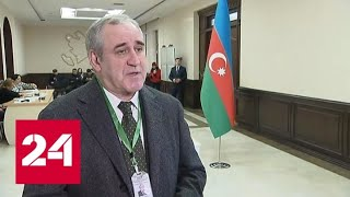 Президент Азербайджана проголосовал на парламентских выборах одним из первых - Россия 24