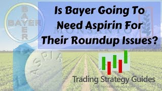 Is Bayer Going To Need Aspirin For Their Roundup Issues? + EURUSD, Bitcoin, & Ethereum