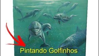 Pintando Golfinhos – Maneco Araújo