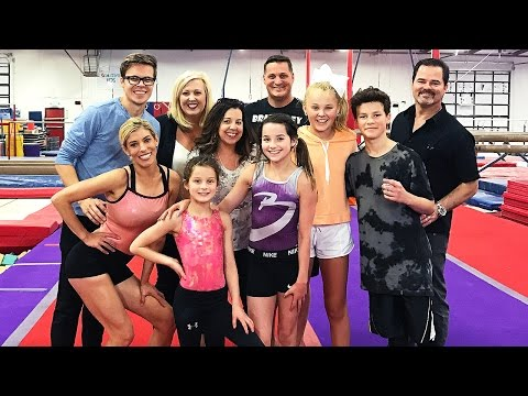 GYMNASTICS WITH THE BRATAYLEY'S, JOJO AND HAYDEN! (Day 101)
