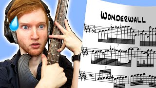 If WONDERWALL Was The Hardest Song In The World