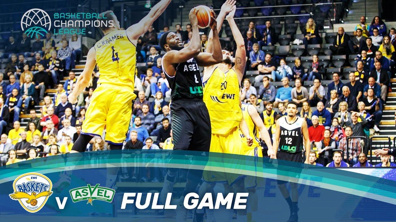 Asvel Asvel Lyon Villeurbanne Basket: EWE Baskets V ASVEL Lyon-Villeurbanne