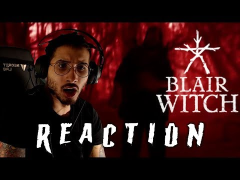 Blair Witch - Official Reveal Trailer REACTION!
