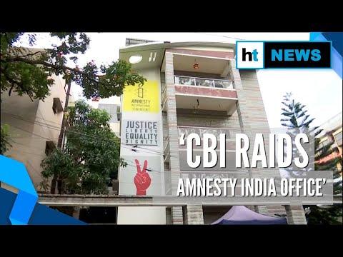 CBI raids Amnesty India offices over alleged FCRA violations