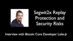 Bitcoin Chainsplit: Segwit2x, Replay Protection, and Security Risks