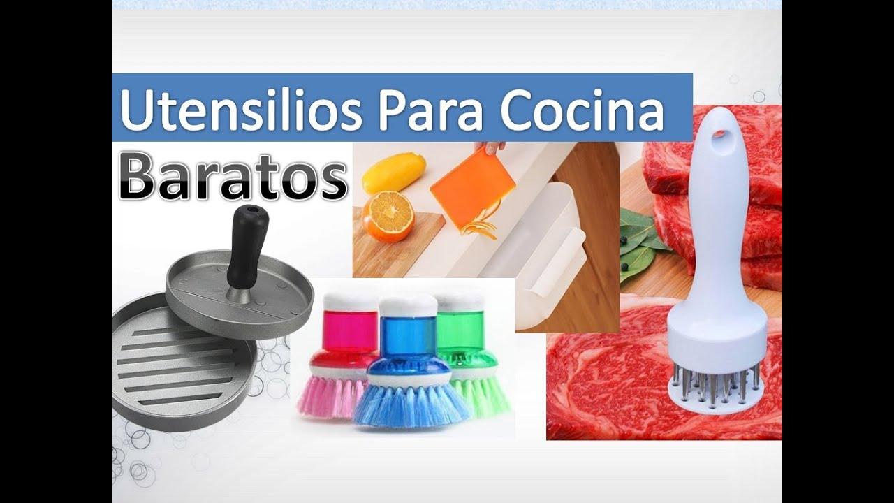 que utensilios de cocina comprar online youtube
