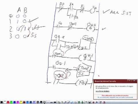 Explicacion De Un Diagrama De Escalera Con Timer Con Plc