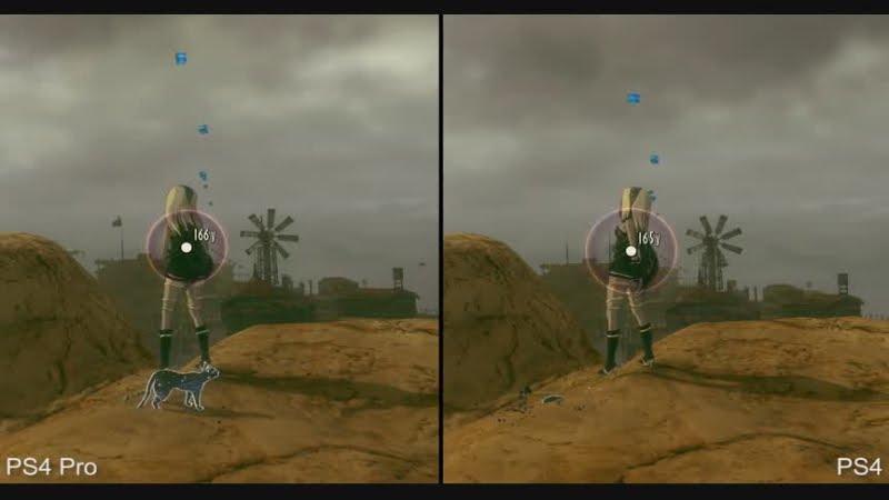 4k gravity rush 2 ps4 pro vs ps4 graphics comparison - Gravity movie 4k ...