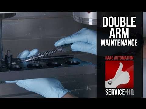 Side Mount Tool Changer (SMTC) Double Arm Maintenance - Haas Automation  Service Video