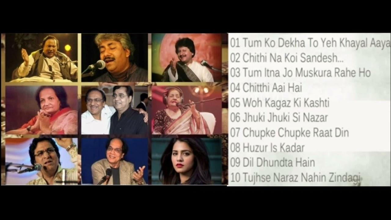 Ghazal Album | Ghazal Collection | Jagjit Singh | ghazal singers