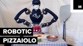 Pizza-Making Robot Chef