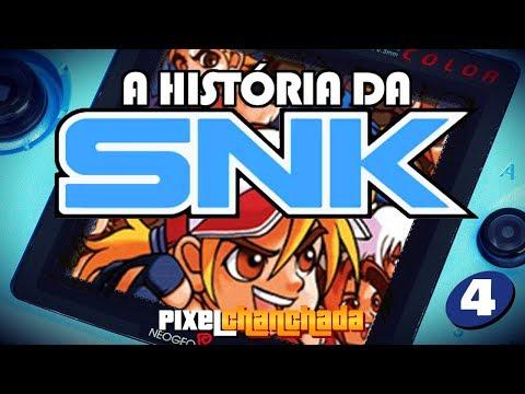 A HISTÓRIA DA SNK | Parte 4 – Neo Geo Pocket Color!