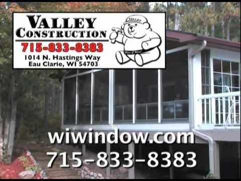 Valley Construction:  Porch Enclosure Test