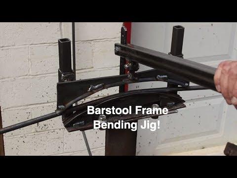 Build a Barstool Frame Bending Jig