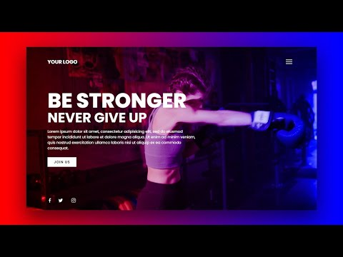 ᐉ How To Make Responsive Website Using Html Css Javascript Gym Fitness Web Design Tutorial Best Webhosting