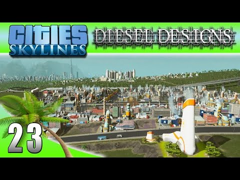Cities: Skylines: EP23: Mastering Industrial Zones! (City Building Series 60FPS)