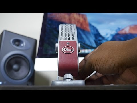 Blue Raspberry Microphone Review!