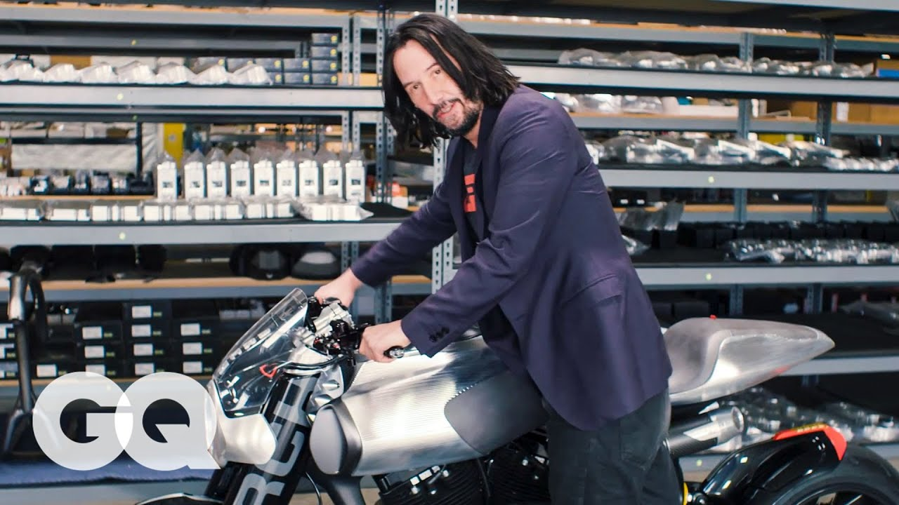Keanu Reeves Shows Us His Most Prized Motorcycles | Collected