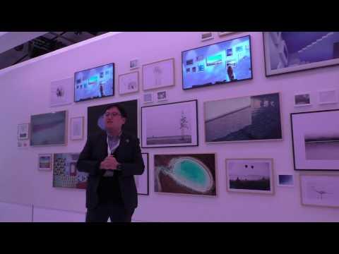 """The Frame"" Samungs neuer Lifestyle-TV (Paris 2017)"