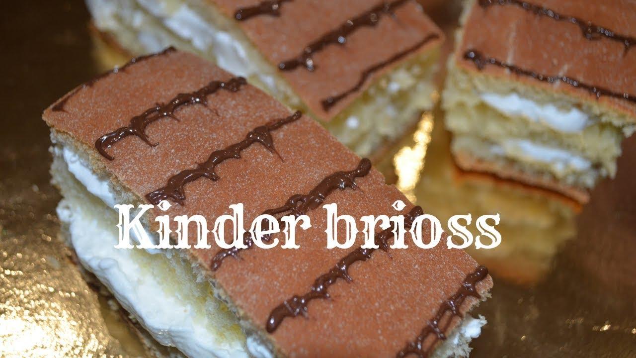 Ricetta Kinder Brioss Uccia3000.Kinder Brioss Fatte In Casa Youtube