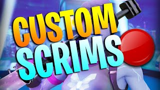 Fortnite LIVE CUSTOMS Anyone can join - Playing Fortnite Mobile W/ With FANS! oMorning Stream