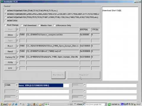 Samsung SGH-F480 Firmware flashen