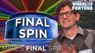 Mike's Impressive Final Spin Round! | Wheel of Fortune