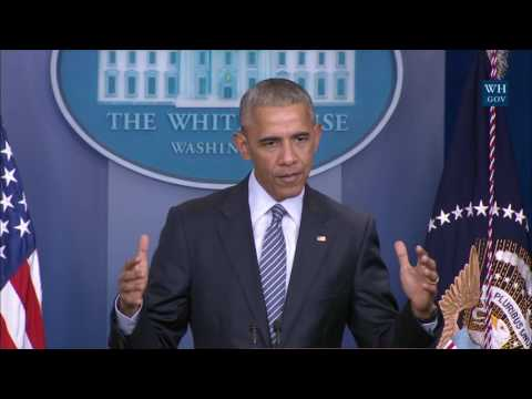 Thumbnail: President Obama Holds a Press Conference