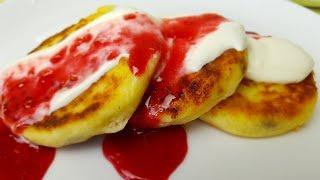 Сырники домашние. Самые творожные сырники, цыганка готовит. Gipsy cuisine.🥞