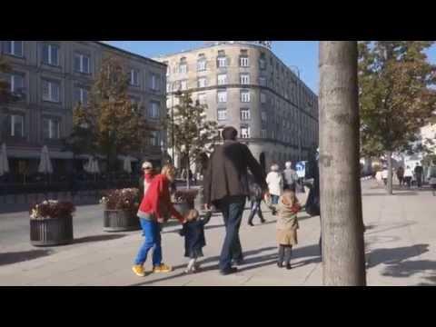 街並みウォーク素顔のワルシャワ