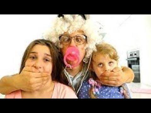 Родители УЕХАЛИ! НЯНЬ вместо НЯНИ! Веселый Нянь! Для Детей Funny For Kids Children 1080p 60fps