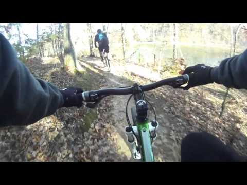 Mountain Biking the Canal Loop at Land Between the Lakes LBL