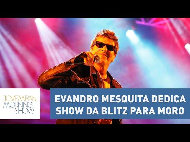 Evandro Mesquita dedica show da Blitz para Moro | Morning Show