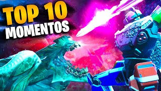 Top 10 Momentos Sorprendentes En El Evento Final De La Temporada 9 (Encuentro Final) | Fortnite