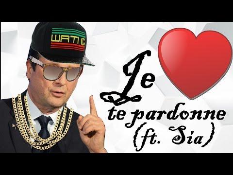 François Hollande chante Je te pardonne de Maître Gims ft .Sia