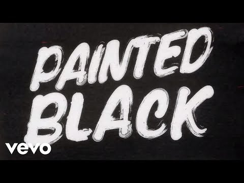 Mix - The Rolling Stones - Paint It, Black (Official Lyric Video)