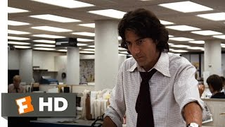 All the President's Men (3/9) Movie CLIP - Somebody Got to Her (1976) HD