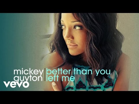 Mickey Guyton - Better Than You Left Me (Audio)