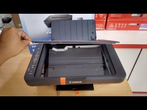 Unboxing Canon Pixma E470 Wi-Fi All-in-One Color Printer