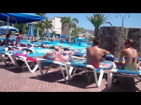 Pool area, Puerto Azul Hotel, Puerto Rico, Gran Canaria